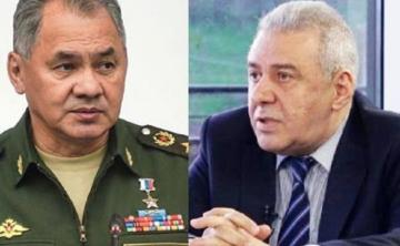 Состоялся телефонный разговор между министрами обороны России и Армении