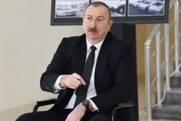 Ильхам Алиев: Союзники вновь пытаются оживить, модернизировать армянскую армию