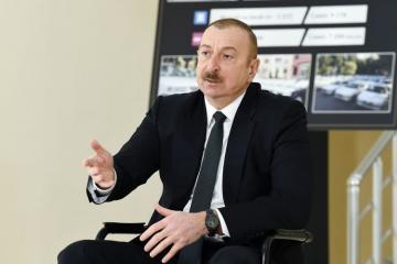 Президент Азербайджана: Мы одержали эту победу не только над Арменией