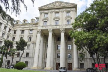 МИД Азербайджана распространил информацию о случаях размещения вооруженных сил Армении на территории Азербайджана