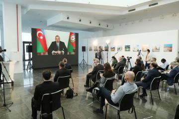 Президент Ильхам Алиев прокомментировал вопрос вложения инвестиций в Карабах