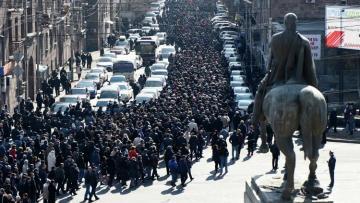 Минобороны Армении призвало не втягивать армию в политические процессы