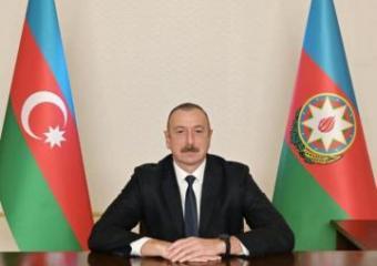 Обращение президента Азербайджана Ильхама Алиева в связи с Днем солидарности азербайджанцев мира и Новым годом