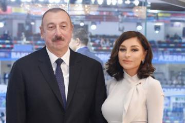 Prezident İlham Əliyev və Birinci vitse-prezident Mehriban Əliyeva Teymur Rəcəbovu təbrik ediblər