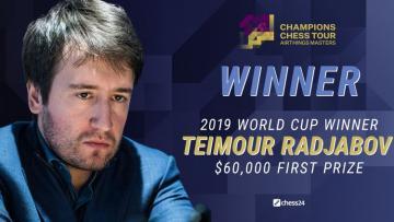 Теймур Раджабов вновь победил Левона Ароняна и стал чемпионом Airtings Masters