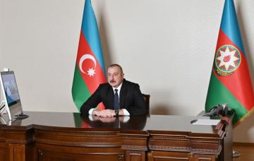 Президент Ильхам Алиев встретился с заместителем председателя правительства Российской Федерации