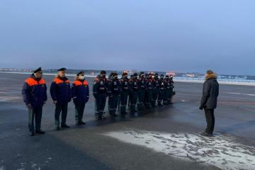 Россия отправила в Азербайджан саперов - [color=red]ВИДЕО[/color]