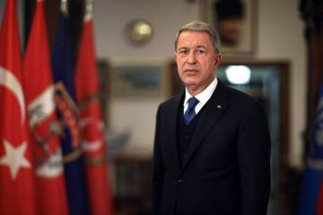 "Hulusi Akar: ""We will stand by Azerbaijan in righteous fight until the end"""