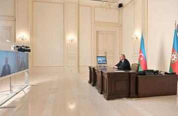 President Ilham Aliyev received in a video format Anar Karimov on his appointment as Minister of Culture