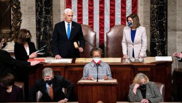 US Congress certifies Biden's win
