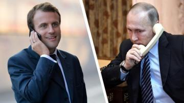 Putin və Makron Azərbaycan Prezidenti və Ermənistan Baş nazirinin görüşü barədə müzakirə aparıb