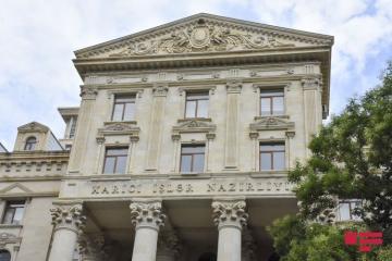 МИД: Призываем Армению прекратить провокационную военную деятельность против Азербайджана