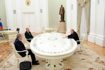 В Москве завершилась трехсторонняя встреча лидеров России, Азербайджана и Армении -  [color=red]ОБНОВЛЕНО-2[/color]