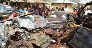 Nigeriyada yol qəzasında 20 nəfər yanaraq ölüb