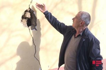 В Лерике около 10 домов оказались в аварийном состоянии из-за оползня - [color=red]ФОТО[/color]