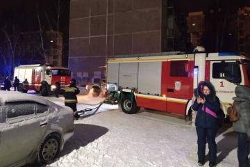 В России при пожаре в жилом доме погибли восемь человек