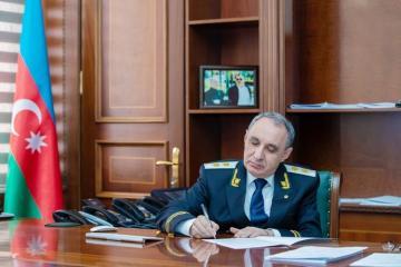 Сын бывшего главы ИВ Агстафы назначен помощником прокурора Губинского района