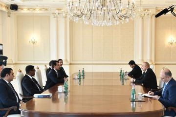 Azerbaijani President received ISESCO Director General