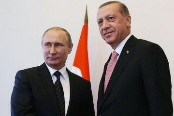 Путин сообщил Эрдогану об итогах встречи с Алиевым и Пашиняном