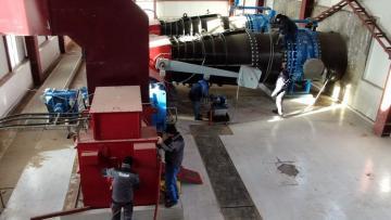 Laçındakı Su Elektrik Stansiyası yenidən qurulur  - [color=red]VİDEO[/color]