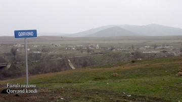Село Гервенд Физулинского района - [color=red]ВИДЕО[/color]