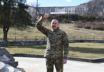 Президент Азербайджана: Унизительный акт о капитуляции навсегда останется в истории