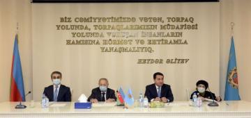 Хикмет Гаджиев принял участие в заседании правления Организации ветеранов Азербайджана