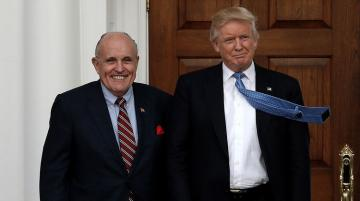 Джулиани заявил о своем участии в защите Трампа по делу об импичменте