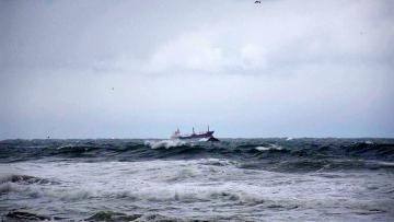 Cпасшийся моряк заявил, что затонувший в Черном море сухогруз накрыло волной