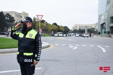 20 января на некоторых улицах и проспектах Баку будет ограничено движение транспорта