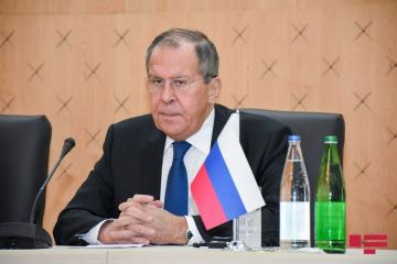 "Russian FM: ""Issue of status of Nagorno-Karabakh was not included in trilateral statement consciously"""