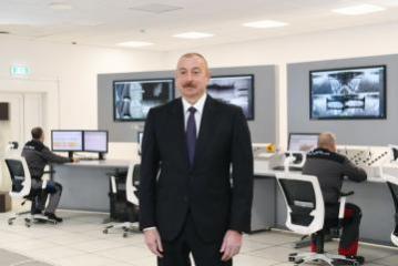 """Dövlət başçısı: """"Azad olunmuş torpaqların bərpası üçün əlimizdən gələni edəcəyik"""""""