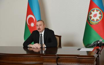 Azerbaijani President received the Secretary General of the Cooperation Council of Turkic Speaking States in video format