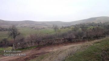 Füzulinin Qarğabazar kəndinin [color=red]GÖRÜNTÜLƏRİ[/color]