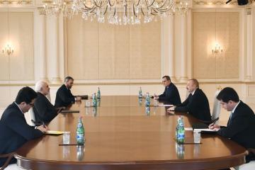 Президент Ильхам Алиев принял министра иностранных дел Ирана - [color=red]ОБНОВЛЕНО[/color]