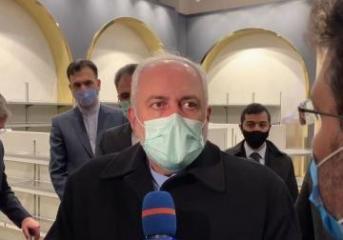Глава МИД Ирана Джавад Зариф прибыл с официальным визитом в Азербайджан