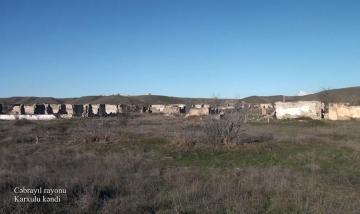 Cəbrayılın Karxulu kəndinin [color=red]GÖRÜNTÜLƏRİ[/color]