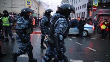 Суды в Москве арестовали 30 человек после незаконных акций 23 января