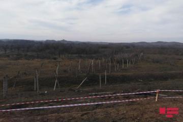Füzulinin işğaldan azad olunmuş ərazilərində düşmənin quraşdırdığı minalar və digər maneələr zərərsizləşdirilir