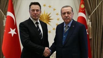 Президент Эрдоган побеседовал с Илоном Маском