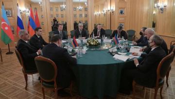 Россия, Азербайджан и Армения договорились по ряду вопросов на заседании трехсторонней рабочей группы в Москве