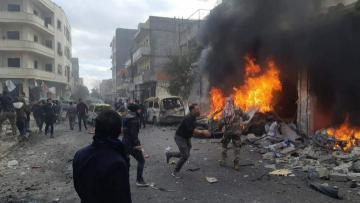 Suriyada terrorçular partlayış törədib: 10 nəfər ölüb, 24 nəfər yaralanıb - [color=red]FOTO[/color]