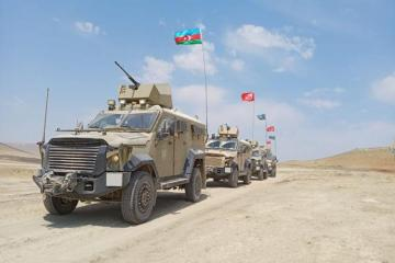 MOD: Combat-training tasks are successfully accomplished in the Azerbaijani-Turkish joint exercises - [color=red]VİDEO[/color]