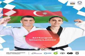Токио-2020: Знаменосцами сборной Азербайджана будут Рустам Оруджев и Фарида Азизова