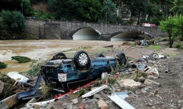 В Германии из-за наводнений пропали без вести более тысячи человек