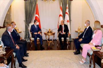Azerbaijani parliament's delegation visits Turkish Cyprus