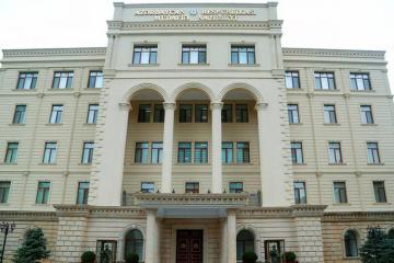 Минобороны: Подверглись обстрелу позиции Азербайджанской Армии по всей протяженности государственной границы