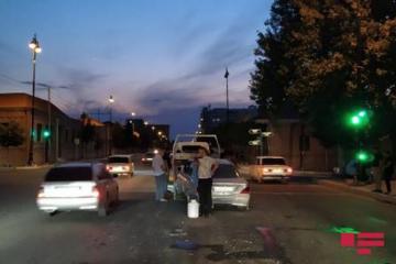 В Гяндже столкнулись три автомобиля марки «Мерседес», есть раненые  - [color=red]FOTO[/color]