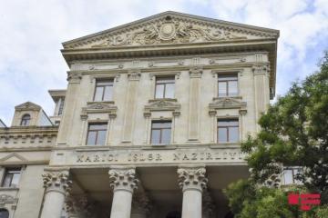 МИД: Заявление МИД Армении, обвиняющего Азербайджан в исторических и территориальных претензиях, является очередным бредом