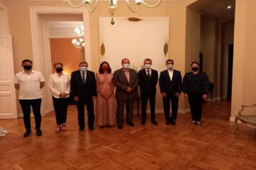 Members of the French Parliament is on a visit to Azerbaijan